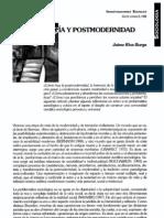 Rios Burga- Sociología y posmodernidad