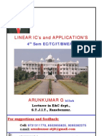 LIC 4th Sem E&C 6 Chapter Notes by Arun Kumar