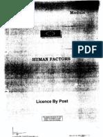1 Human Factors 1