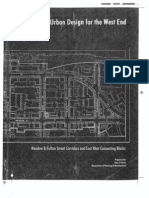 Urban Design for the West End, published by the City of Ithaca Department of Planning, November 1998