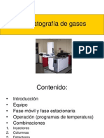 Cromatografía de gases1