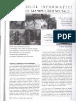 Controlul Informatiei in Scopul Manipularii Sociale 4din4