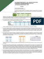 Taller 1 - Formulacion de Problemas 2013-I