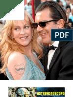 Antonio Banderas y Melanie Griffith, el secreto del exito de su relacion gracias a la astrologia.