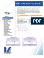 XPIN-XT Detector Datasheet