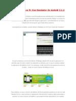 WhatsApp Para Pc Con Emulador de Andoid 2.1.2