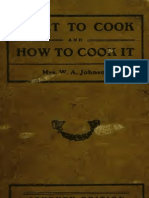 What to cook, How to cook