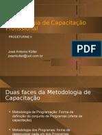 Metodologia de Capacitação Profissional - Missão de Arranque