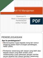 EKMA4116 Manajemen Pertemuan IVb