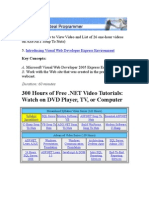 ASPNET Video 5 Visual Web Developer Express VWD
