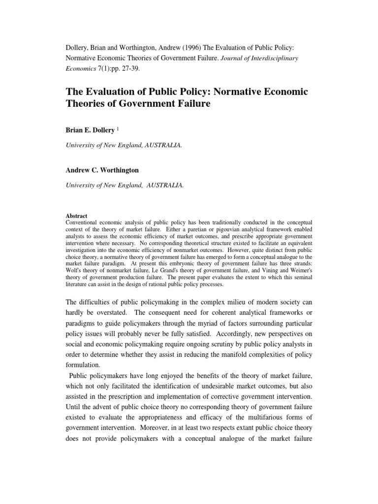 normative theory and policy evaluation Democratic peace theory: a review and evaluation may also contribute to strengthening the democratic peace theory democratic states6 share a common normative dedication to liberal ideals.