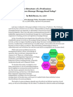 Rosen Structure of Profession