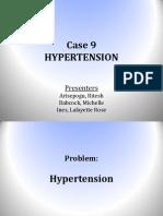 Case 9 - Hypertensiona