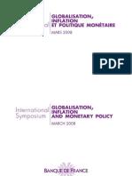COLL08 Page de Garde.indd Globalisation Inflation Et Productivite Integral