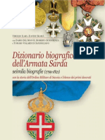 Sardinian Army Biographical Dictionary