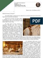 La relación del nuevo Papa con el Carmelo Teresiano