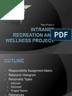 Wellness Project Final