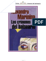 Marinina Alexandra - Kamenskaya 01 - Los Crimenes Del Balneario