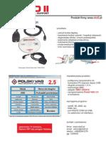 VAG 2.5 USB + Adapter