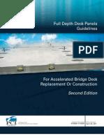 Pcine Full Depth Deck Panel Report