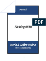 Manual Edublogs RUM