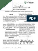 DISEÑO DE UNA UPS U LIBERTADORES