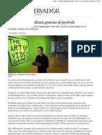 Creatividad y Cultura Gracias Al Joystick