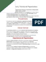 Cáncer Cervical y Técnica de Papanicolaou.docx