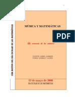 2008 Musica y Matematicas