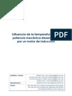 _Influencia Tempertura en Potensia Mekanika