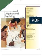 Industrial Organization Psychology