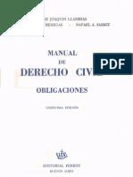manual de derecho civil - obligaciones - jorge j. llambías