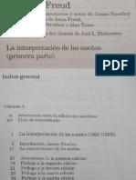 Freud, S. 04 - (1900) - IV - LA INTERPRETACION DE LOS SUEÑOS (PRIMERA PARTE)