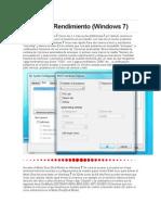 Aumentar Rendimiento (Windows 7)
