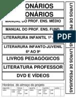 Placas Para Biblioteca