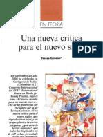Una nueva crítica para un nuevo siglo-Teresa Colomer