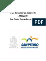 Plan Municipal de Desarrollo de San Pedro