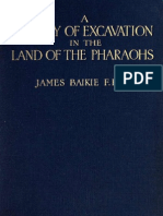 Baikie - A Century of Excavation in the Land of the Pharaohs