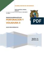 PROBLEMAS DE PERFORACIÓN Y VOLADURA DE ROCAS