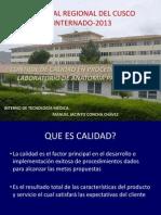 Control de Calidad en Procedimientos de Laboratorio en Anatomia Patologica