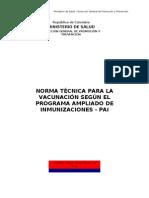 01. Programa Ampliado de Inmunizaciones