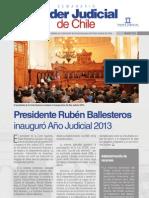 Boletín Informativo N° 23 del Poder Judicial
