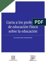 Carta Profesores Educacion Fisica