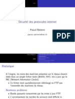 Securite Des Protocoles DNS