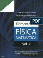 Elementos de Fisica Matematica Vol 1 Bassalo e Cattani 936cf