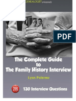 The Complete Guide to the Family History Interview