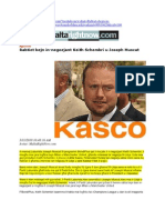 Joseph Muscat Denies Knowledge of Keith Schembri's Business Interests in Libya Maltarightnow 31MAR13