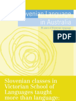10.10. Slovenian Language in Australia