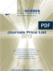 inderscience publications