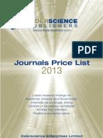 inderscience publications